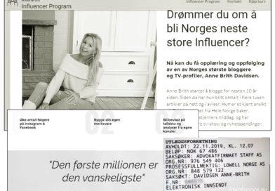 """""""Bloggerne"""" – profil selger kurs basert på egen gründersuksess. Samtidig tar namsmannen pant i boligen hennes."""